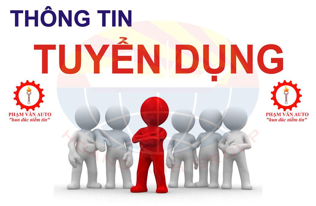 Phụ Tùng ô Tô Phạm Văn Tuyển Dụng