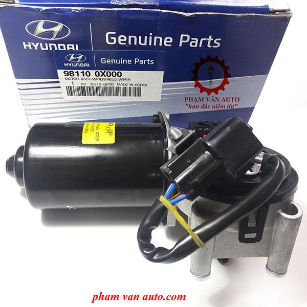 Motor|Mô Tơ Gạt Mưa Huyndai I10 981000X000
