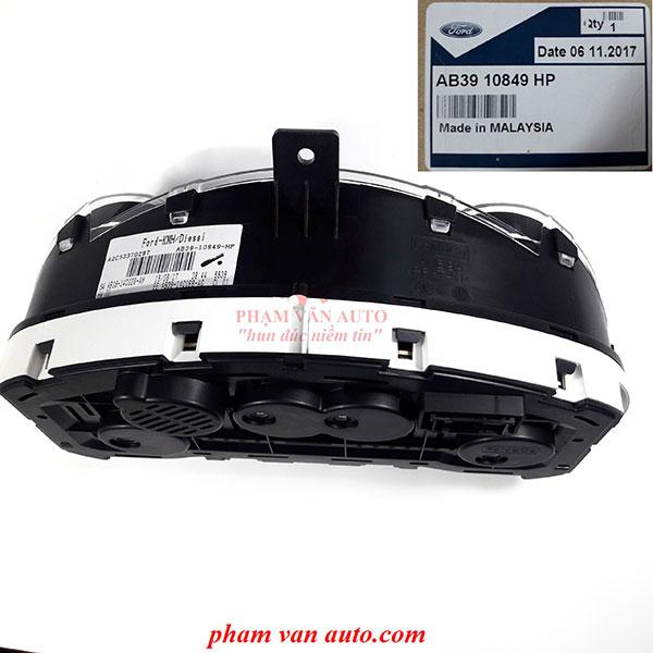Đồng Hồ Táp Lô | Công Tơ Mét Ford Ranger Wiltrack AB3910849HP