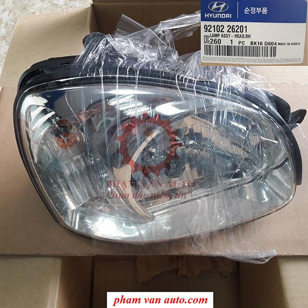 Đèn Pha Phải | Đèn Pha Phụ Hyundai Santafe Gold 9210226201
