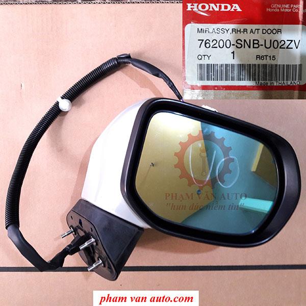Gương Chiếu Hậu Phụ Honda Civic 2.0 76200SNBU02ZV 2007 Chính Hãng