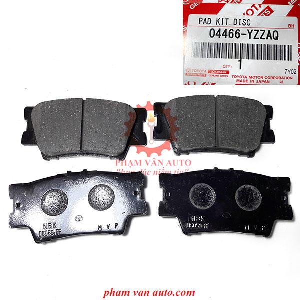 Má Phanh Sau đĩa Toyota Camry 04466YZZAQ Chính Hãng Giá Tốt Nhất