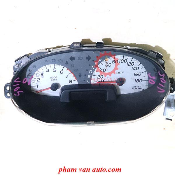 Đồng Hồ Taplo Toyota Vios 2007 Hàng Chất Lượng Cao Giá Tốt Nhất