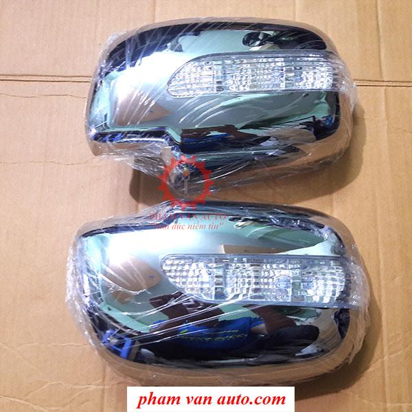 Ốp Gương Mạ Crom Có đèn Toyota Fotuner Hàng đẹp Chất Lượng Cao