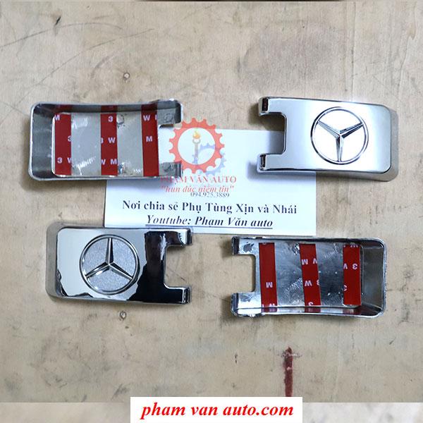 Ốp Mạ Bản Lề Cửa Hậu Mercedes Spinter Hàng Xịn Giá Rẻ Nhất