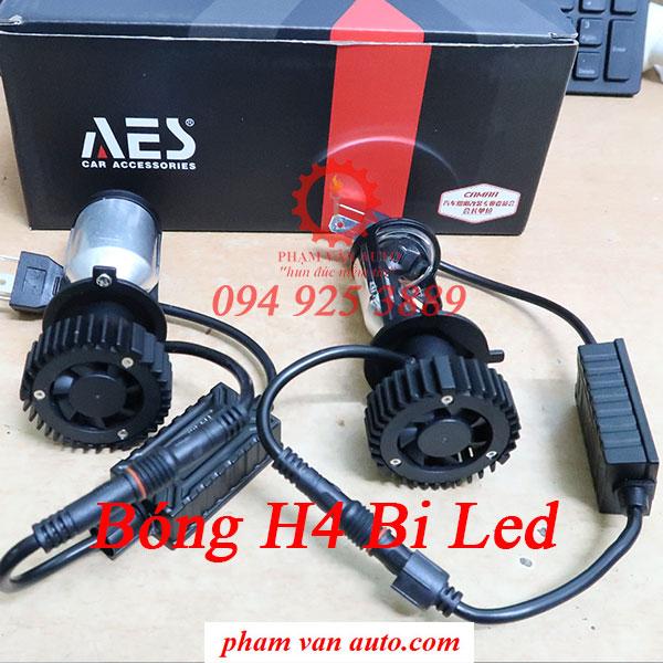 Bóng đèn pha H4 bi Led AES hàng chất lượng cao giá rẻ nhất