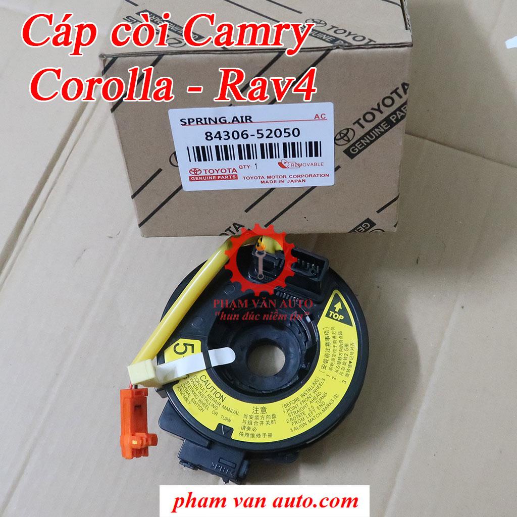 Cáp Còi Cuộn Dây Túi Khí Toyota Camry Rav4 Corolla 8430652050 Hàng Tốt