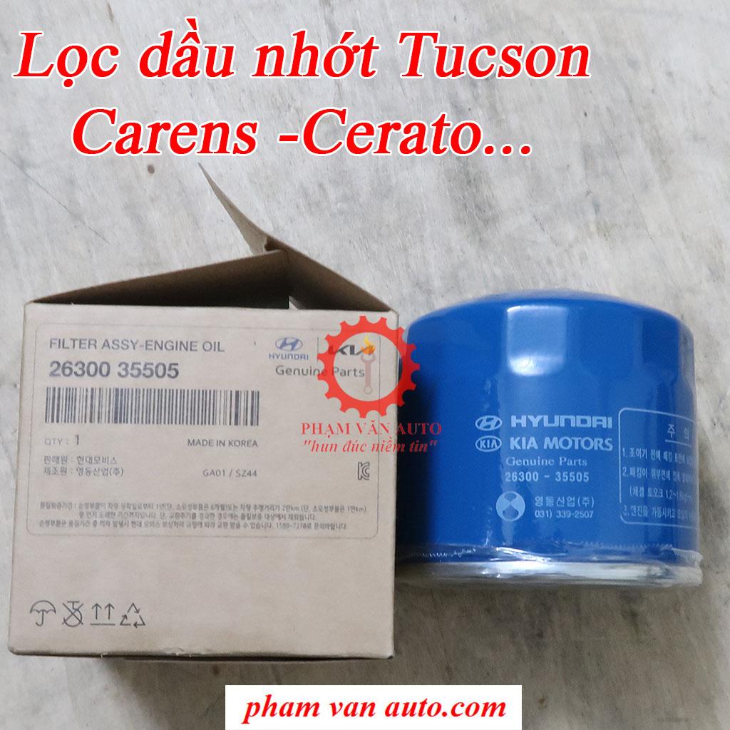 Lọc Dầu Nhớt động Cơ Tucson Avante Spectra Carens 2630035505 Chính Hãng