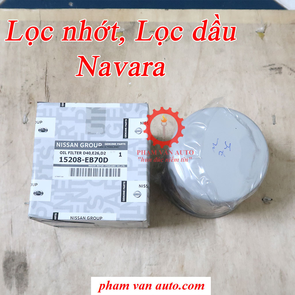 Lọc Nhớt Lọc Dầu Nissan Navara 15208EB70D Hàng Xịn Giá Rẻ Nhất