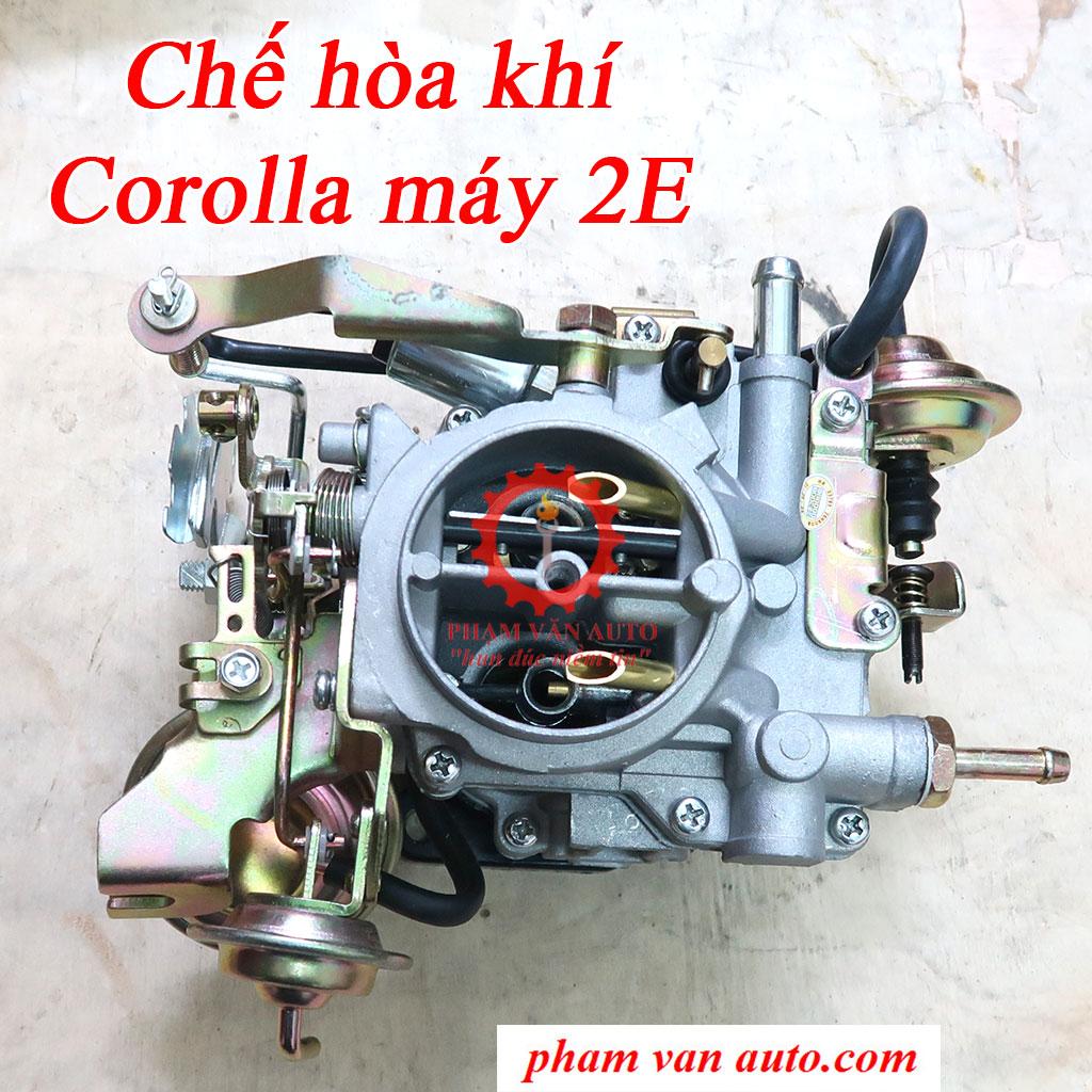 Chế hòa khí Toyota Corolla động cơ 2E hàng chất lượng cao giá rẻ