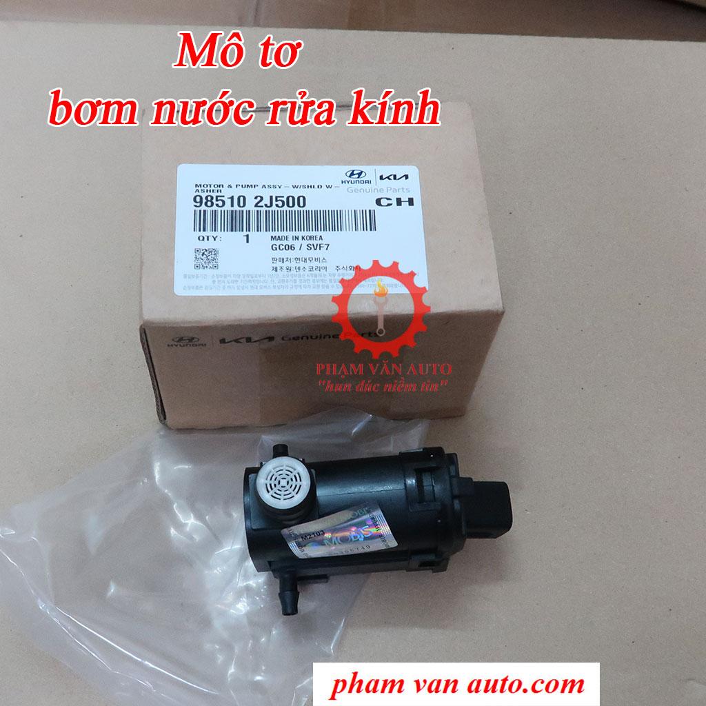 Mô Tơ Bơm Nước Rửa Kính Hyundai Getz Grand I10 Santafe Rio 985102J500